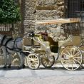 Pferdekutschen in Malaga